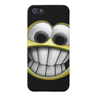 Grinning Happy Smiley Face Cover For iPhone 5/5S