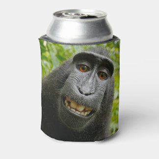 Grinning Monkey Can Cooler