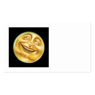 Grinning Moon on Halloween Pack Of Standard Business Cards