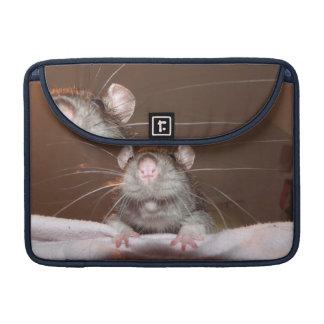 grinning rat macbook pro flap sleeve sleeve for MacBook pro
