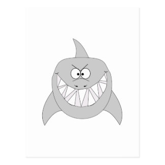 Grinning Shark Postcard