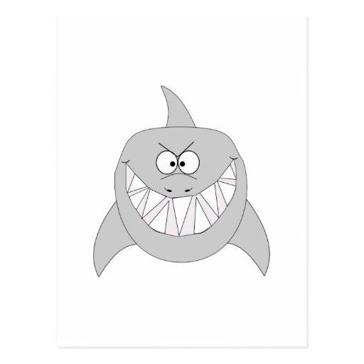 Grinning Shark Postcards