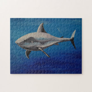 Grinning shark puzzle