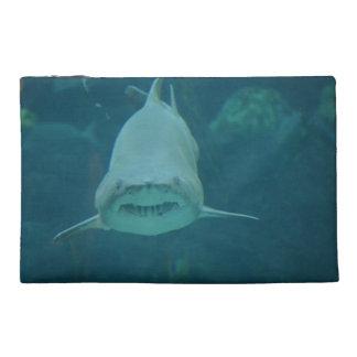 Grinning Shark Travel Accessory Bag
