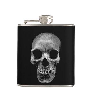 Grinning Skull Hip Flask