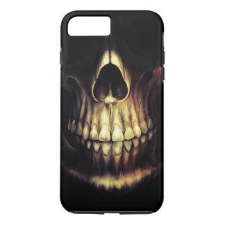 grinning skull iphone 7 plus case