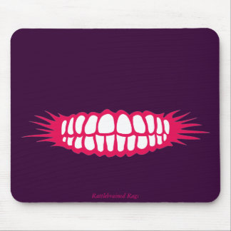 Grinning Teeth Mousemat