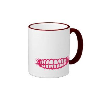 Grinning Teeth Mugs