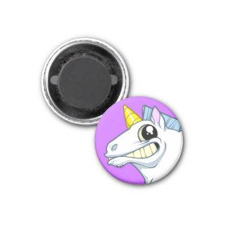 Grinning Unicorn Magnet