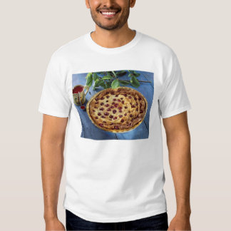 Griotte cherry clafoutis For use in USA Tshirts