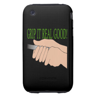 Grip It Real Good Tough iPhone 3 Cover