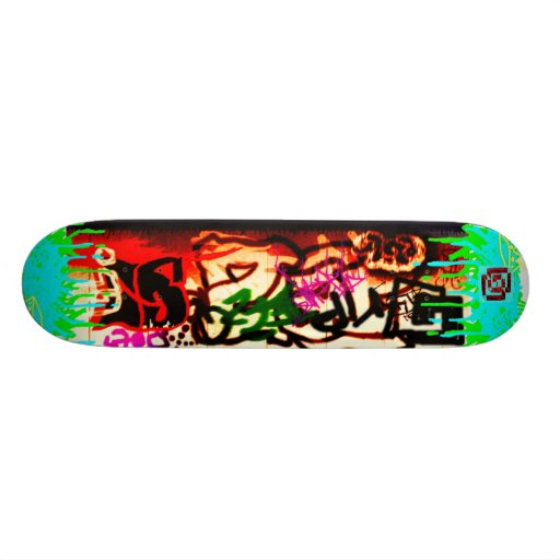 Grip paint storm skateboard deck zazzle for Best paint for skateboard decks