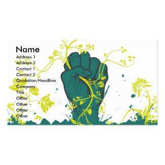 gripping nature vector pack of standard business cards