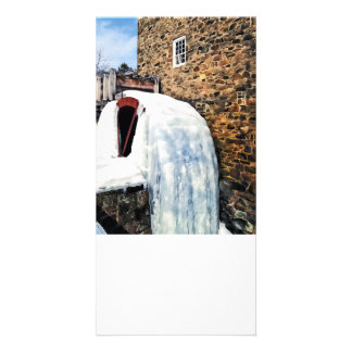 Grist Mill in Winter Photo Card