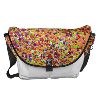 Grit Glitter Fashion Multicolor Painting #3 Commuter Bag