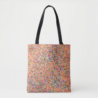 Grit Glitter Fashion Multicolor Painting #8 Tote Bag