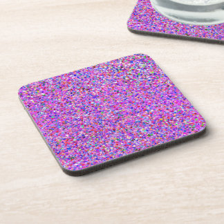 Grit Glitter Fashion Multicolor Painting Coaster