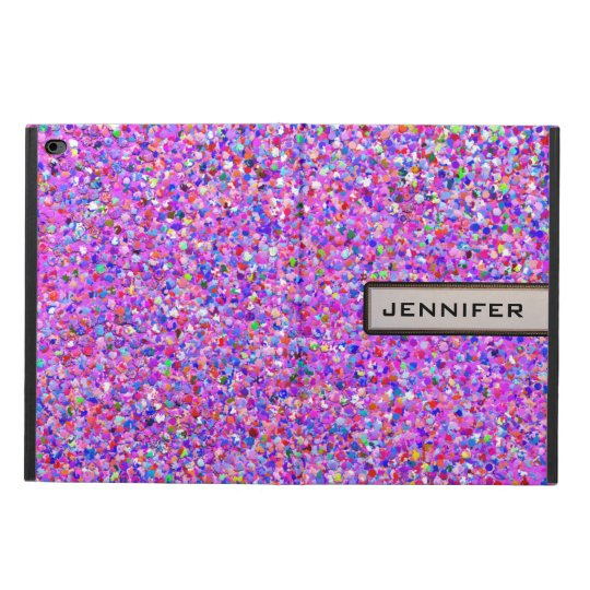 Grit Glitter Fashion Multicolor Painting Powis iPad Air