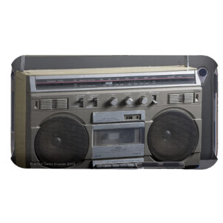 Gritty Boom Box Barely There iPod Covers
