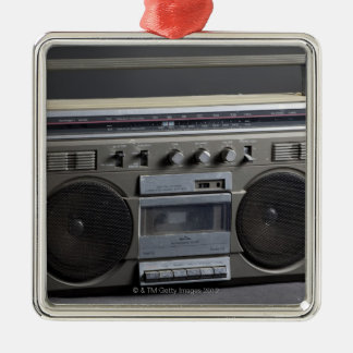 Gritty Boom Box Christmas Ornament