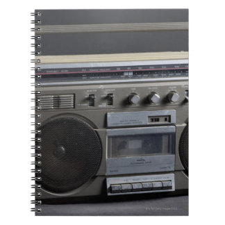 Gritty Boom Box Notebooks