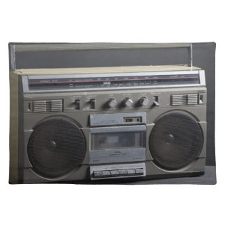 Gritty Boom Box Placemat