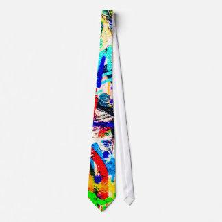 Gritty Crazy Graffiti Tie