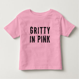 Gritty In Pink - Toddler Fine Jersey T-Shirt Pink