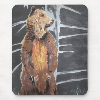 Grizly Bear Mouse Mat