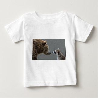 Grizzle Bear Meets Raccoon Baby T-Shirt