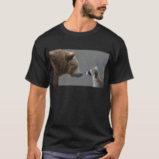 Grizzle Bear Meets Raccoon T-Shirt