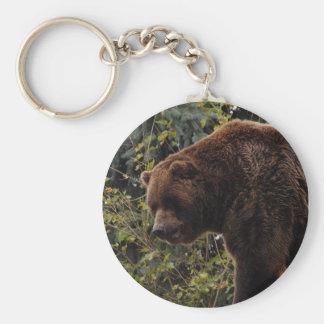 grizzly-bear-009 key chain