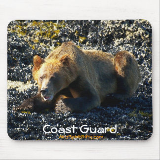 Grizzly Bear Art Mouse Pads