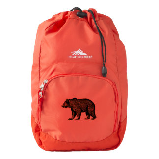 Grizzly Bear Backpack