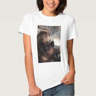 Grizzly Bear Boar Tee Shirt