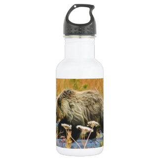 Grizzly Bear Cub 532 Ml Water Bottle
