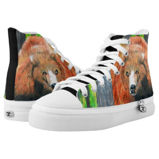GRIZZLY BEAR high tops