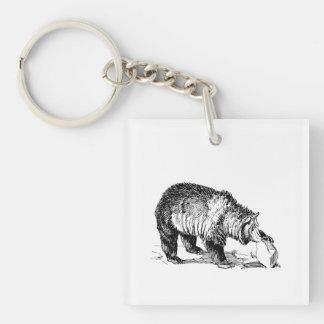 Grizzly Bear Acrylic Keychains