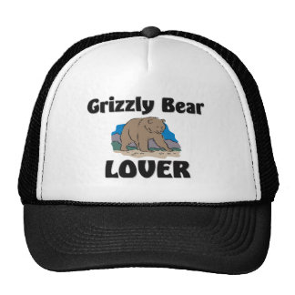 Grizzly Bear Lover Trucker Hat