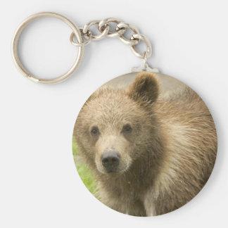 Grizzly Cub  Keychain