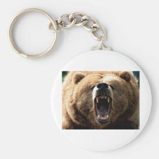Grizzly Key Chain