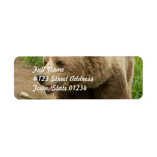Grizzly  Mailing Labels