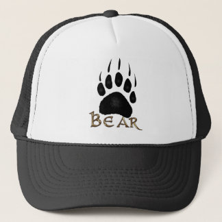 Grizzly Paw Print Wildlife Supporter Trucker Cap