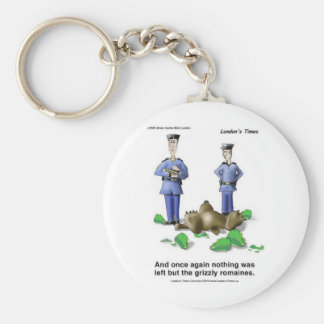 Grizzly Romaines Bear/Lettuce Cartoon Gifts & Tees Keychains