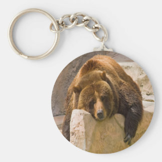 Grizzly Workout Keychain
