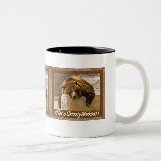 Grizzly Workout Mug