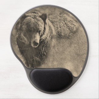 Grizzy Bear Gel Mouse Pad