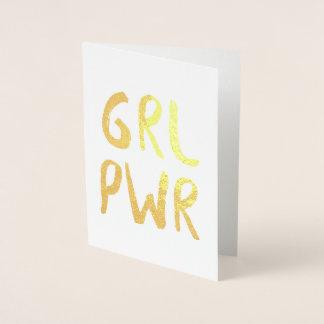 GRL PWR FOIL CARD