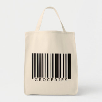 Groceries Barcode Bag