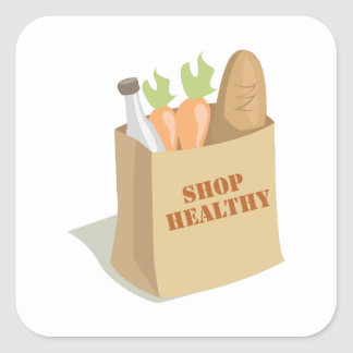 Groceries_Shop_Healthy Sticker